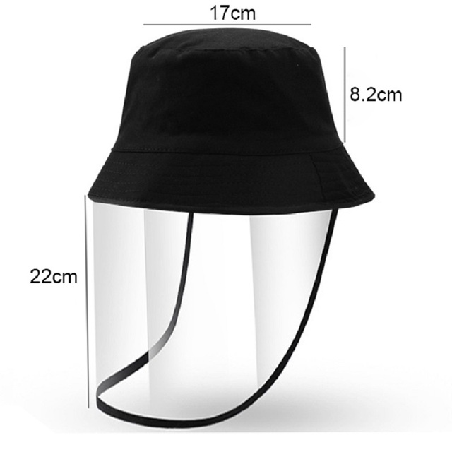 Clear Safety Grinding Face Screen hat Mask For Visors Eye Face Protection Anti-Dust Windproof Bacteria Proof Flu Men Women 4