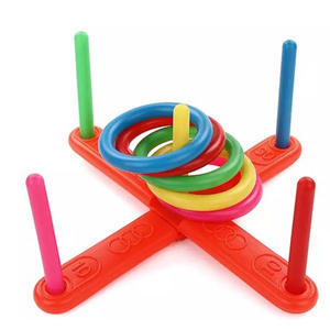 Hoop Ring Plastic Toss Quoits Garden Game Pool Kids Toy Outdoor Funny kids toys