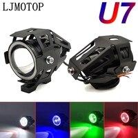 125W Motorrad Scheinwerfer 3000LM Abblendlicht U7 licht LED hilfs Für Yamaha YZF R25 YZF R6 YZF 600R FZR 600 FZ600 auf