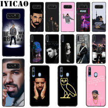 IYICAO Rapper Drake Soft Silicone Case for Samsung A70 A60 A50 A40 A30 A20 A10  M40 M30 M20 M10 Note 8 9 Phone