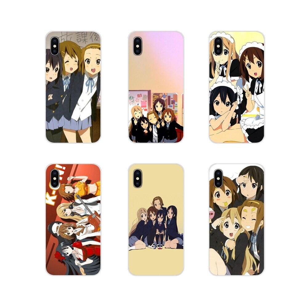 Чехлы для телефонов Samsung A10 A30 A40 A50 A60 A70 Galaxy S2 Note 2 3 Grand Core Prime k-on с японским аниме