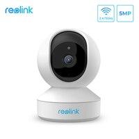 Reolink home security kamera 5MP PTZ 2,4G/5G WiFi 2-weg audio Micro SD card slot indoor ip kamera E1 Zoom