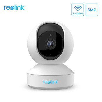 Reolink home security camera 5MP PTZ 2.4G/5G WiFi 2-way audio Micro SD card slot indoor ip E1 Zoom - discount item  40% OFF Video Surveillance