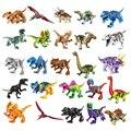 Конструктор мир Юрского Периода Динозавров, Серия Блоков Velociraptor T-Rex Triceratops, сборные фигурки, игрушки