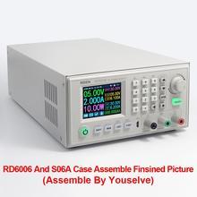 Rd rd6006 rd6006w usb wifi, dc, tensão atual, módulo de fonte de alimentação, conversor de voltagem voltímetro 60v 6a