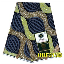 2020 New Arriva 100% Cotton African Wax Ghana Wax Fabric High Quality Angola Wax printing 6Yards/Piece For Clothes