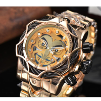 Luxury Top Brand Joker Watch Men Big Size Quartz Movement Waterproof Business Men\'s Gold WristWatch Joker Drop Shipping