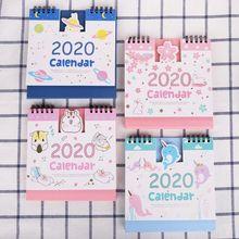 2020 Fresh Cartoon Desktop Paper Calendars Table Daily Schedule Planner Agenda 2019 japanese anime one piece desk calendar diy table calendars daily schedule planner 2019 01 2019 12