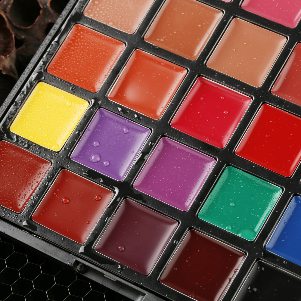 25 cores profissional lipgloss rotulo privado logotipo personalizado 05