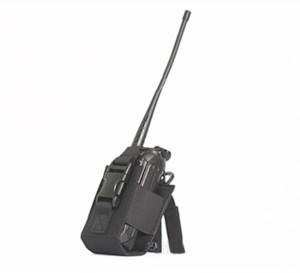 Outdoor Army Case Tactical Sports Pendant Military Molle Nylon Radio Walkie Hunting Talkie Holder Bag Magazine Mag Pouch Pocket|Hunting Bags| |  - title=