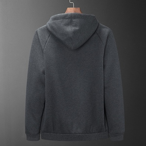 Image 4 - Autumn and winter new mens Fleece  hoodie Plus size casual loose large size mens plus velvet jacket male 8XL
