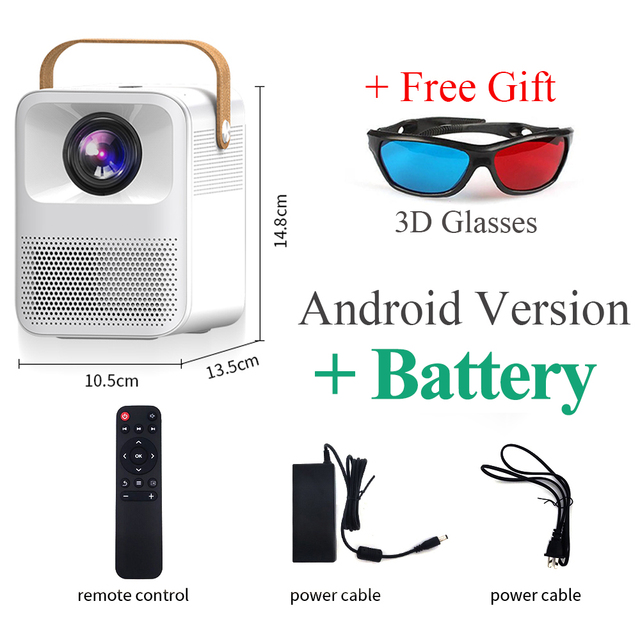 CRENOVA ET30S / Everycom ET30W 1080P FullHD Android + Battery