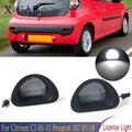 X-CAR светодиодный 2 шт. автомобильного номерного знака светильник сигнальная лампа светильник для Citroen C1 2005 2006-2013 для Peugeot 107 2005 2006-2014
