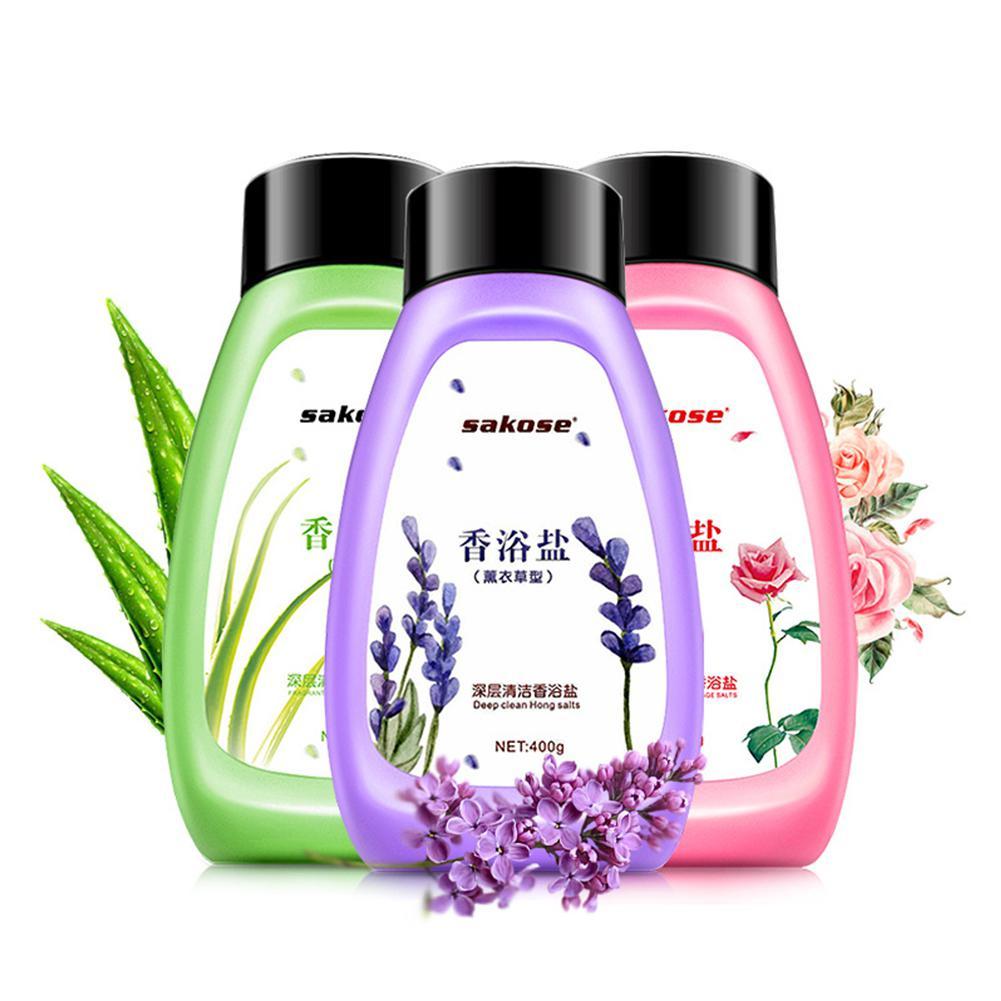 Milk Lavender Body Whitening Exfoliating Shower Gel Deep Clean Peeling Body Salt Lotion Dead Skin Remover Moisturizing Bath
