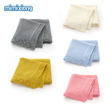 Get more info on the Baby Blankets Knitted Super Soft Newborns Bebes Swaddle Wrap Candy Color Toddler Infantil Sofa Crib Bedding Quilt Stroller Cover