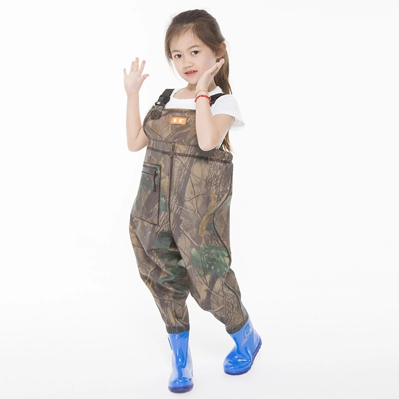 Wading-Pants Fishing Waterproof Boots Hunting with Children Outdoor Sports Jumpsuit Breathable