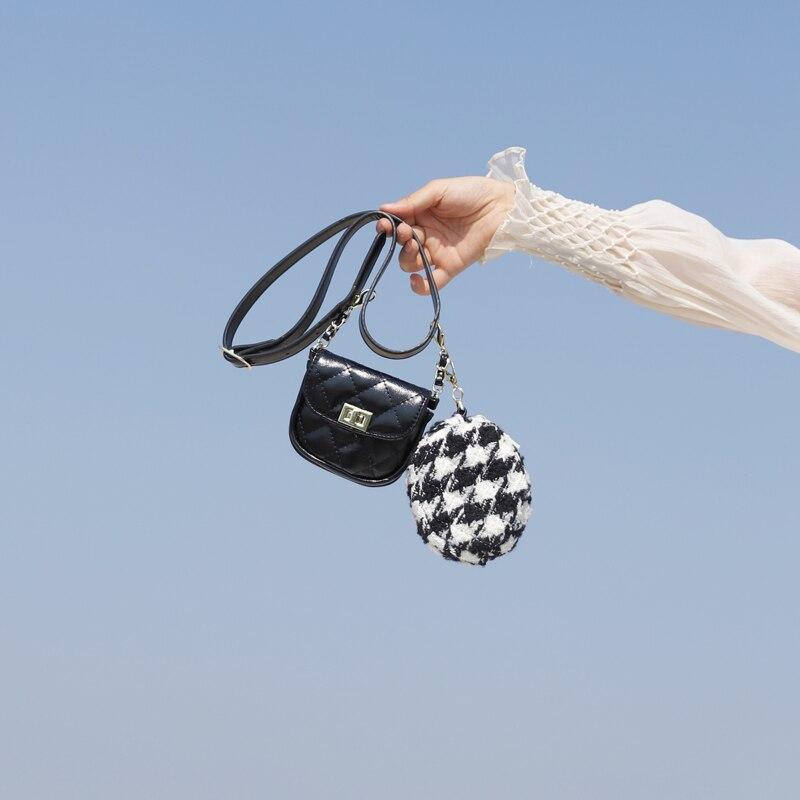 New Mini Crossbody Small Round Bag Waist Pack For Wowam 2019  Luxury Fanny Pack