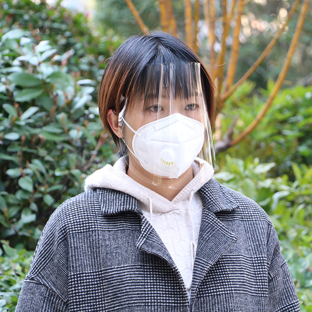 Coronavirus Masks Protective Windproof Face Shield Adjustable Dust-proof Full Face Cover Mask Visor Shield Dropship CSV order 25