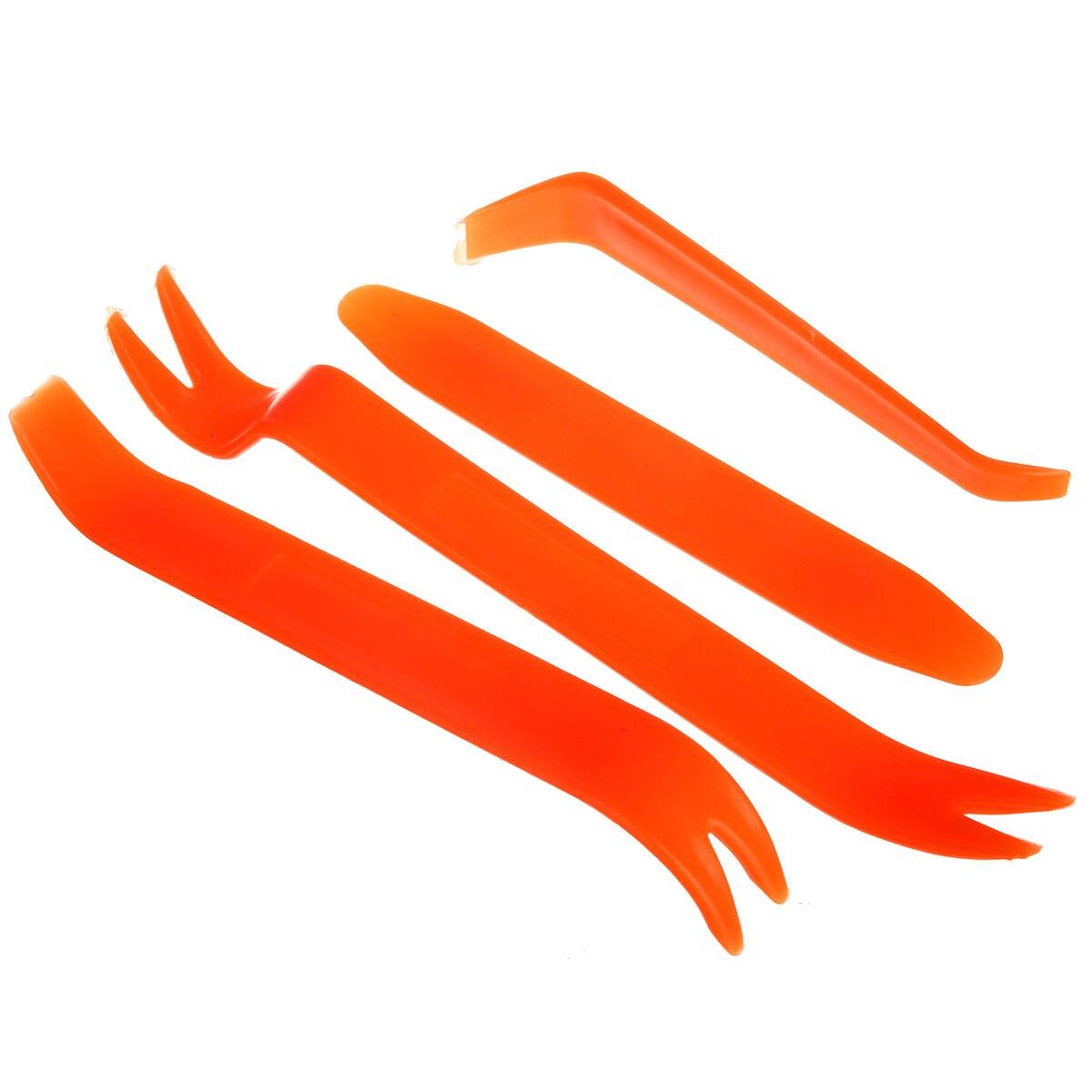 4Pcs Auto Car Radio Panel Door Clip Panel Trim Dash Audio Removal Kit Repair Hand Tools Pry Tool Accessories