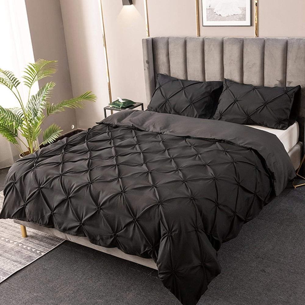 3pcs king size home textile brief nordic bedding set men women bed linen cover pillowcase sheet duvet cover with pillowcase