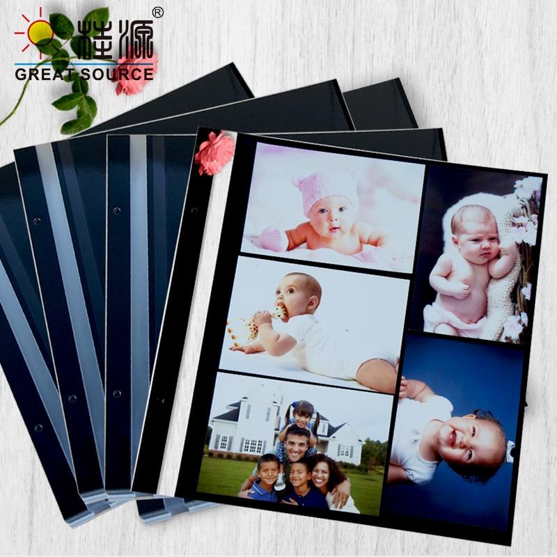 Adhesive Photo Album Leaf  12R Photo Leaf  W31.5*H32.5cm(12.402