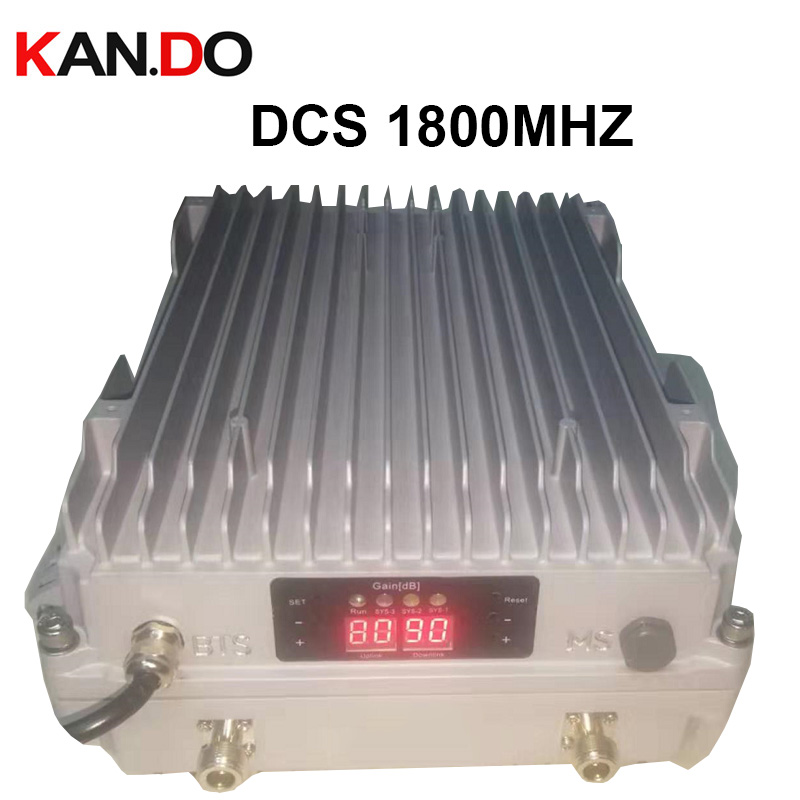 Professional BTS Base Station OUTDOOR Booster 5W Power 2G 4G Booster LTE Repeater 1800Mhz Booster LTE Repeater ODM Booster DCS
