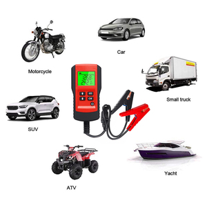 Image 5 - Auto Diagnose Werkzeug Batterie Tester 12V Last Test Analyzer von Batterie Lebensdauer Prozentsatz Spannung für die auto Schnell Ankurbeln lade