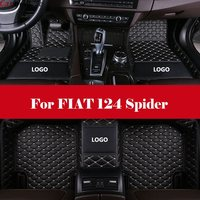 Auto Interior Decoration Car Protector Rugs Car Styling LHD car accessories car Floor Mats For FIAT 124 Spider