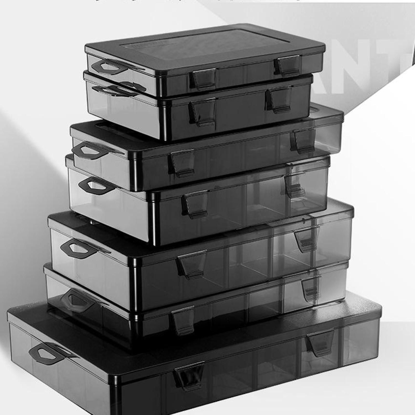 Plastic Schroeven Opbergdoos Hardware Opbergdoos Sieraden Organizer Box Kralen Ambachten Sieraden Earring Bead Schroef Container Case