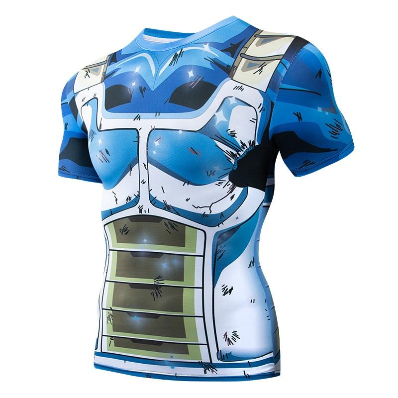 Bodybuilding Short Sleeve 3D Printing Men