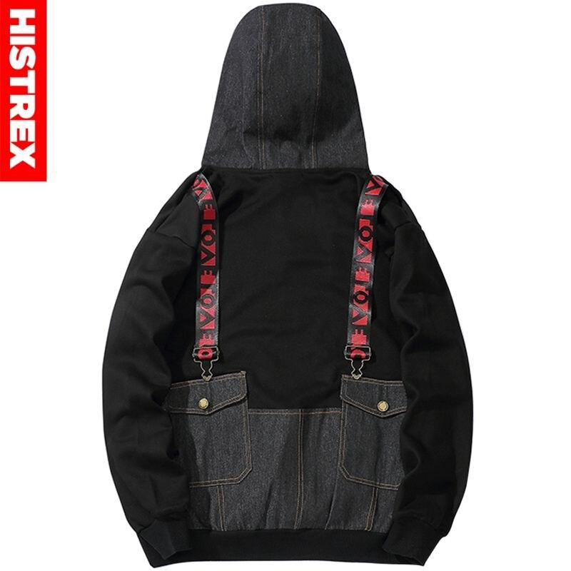 Заказной с собственным логотипом пуловер толстовки для мужчин взрослых печатных толстый свитер красочные черный хлопок свитер - 2
