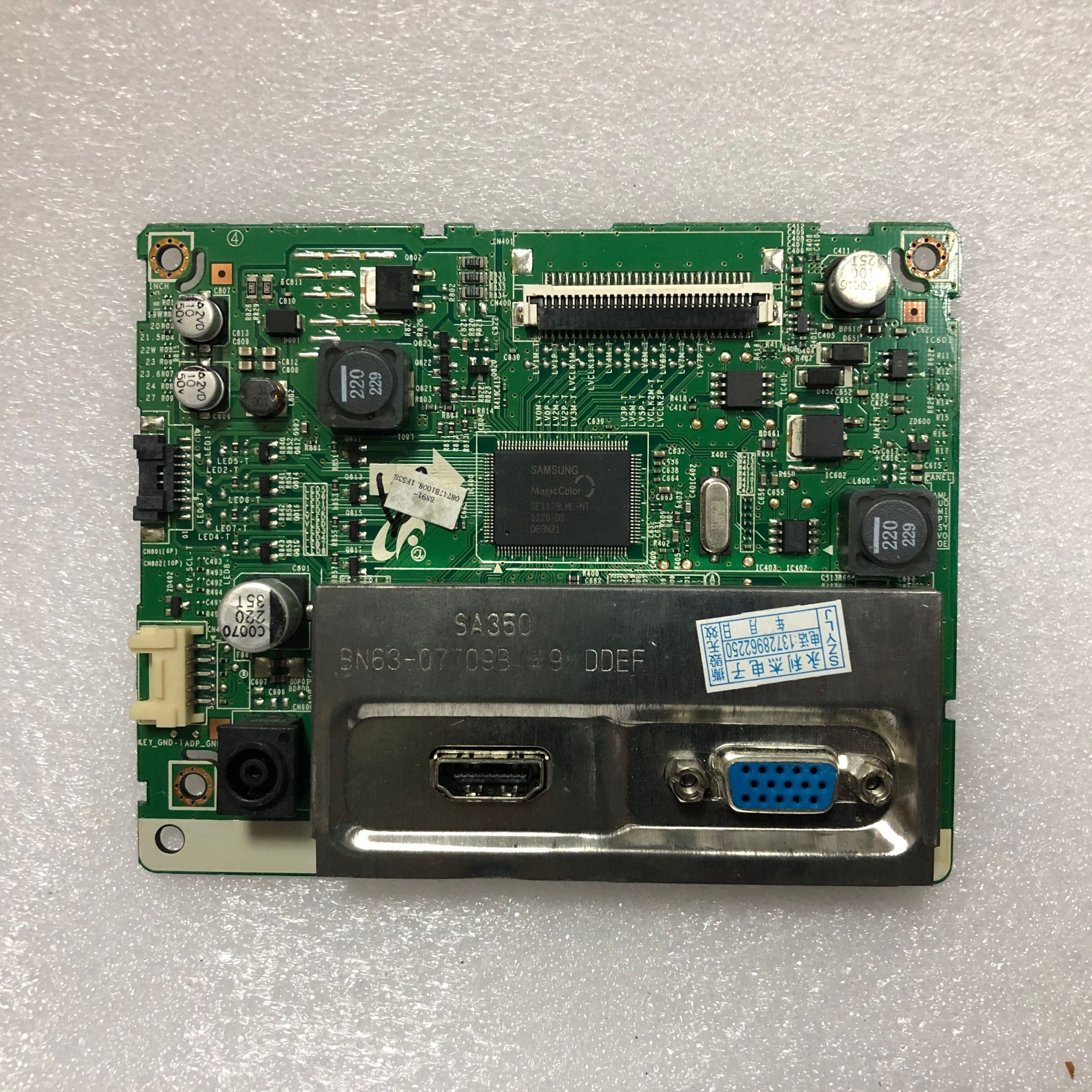 Darmowa wysyłka 100% test SA350H S23A350H S24A350T S22A350H BN63 07709B płyta napędowaBaterie i zasilanie do tabletówKomputer i biuro -
