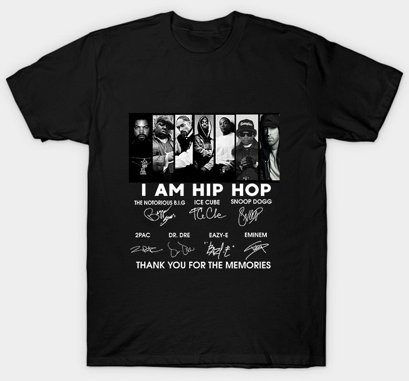 I AM HIP HOP LEGENDS SIGNATURE SHIRT
