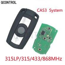 QCONTROL remote Key 315MHz 315LP 433MHz 868MHz for BMW 3 5 Series X1 X5 X6 Z4 E60 E70 E71 E91 E92 CAS3 With ID7945/7953 Chip