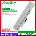 4400mAh laptop akku für MSI Wind U210-006US U230 U100 U90 U200 U210 für LG X110 für MEDION Akoya Mini e1210 BTY-S11 BTY-S12