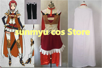 На заказ, Бесплатная доставка! «Gate: Jieitai Kanochi nite Kaku Tatakaeri Пина Co Lada Косплэй костюм, изготовление размеров под заказ Хэллоуин