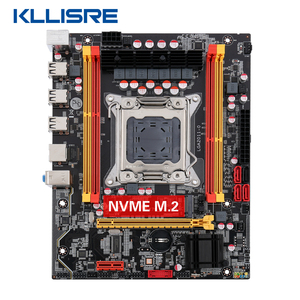 NEW Kllisre X79 chip motherboard SATA3 PCI-E NVME M.2 SSD support REG ECC memory(China)