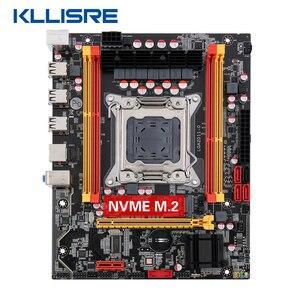 Image 2 - Nuova scheda madre Kllisre X79 chip SATA3 PCI E NVME M.2 SSD supporto memoria REG ECC