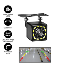 Rear View Camera Car Reverse Camera IP67 Waterproof CCD Lens 140 Degree Rearview Cameras LED Parking Vehicle Back Up Cam