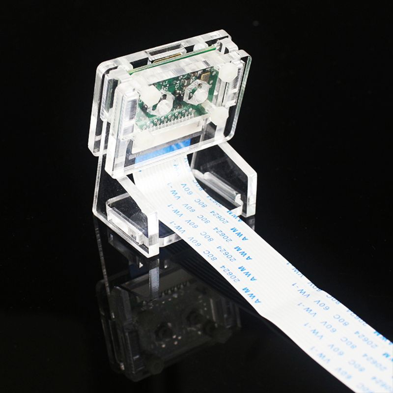 1Set Acrylic 5MP Camera Holder Bracket For Raspberry Pi 1-4 V2 Official Camera