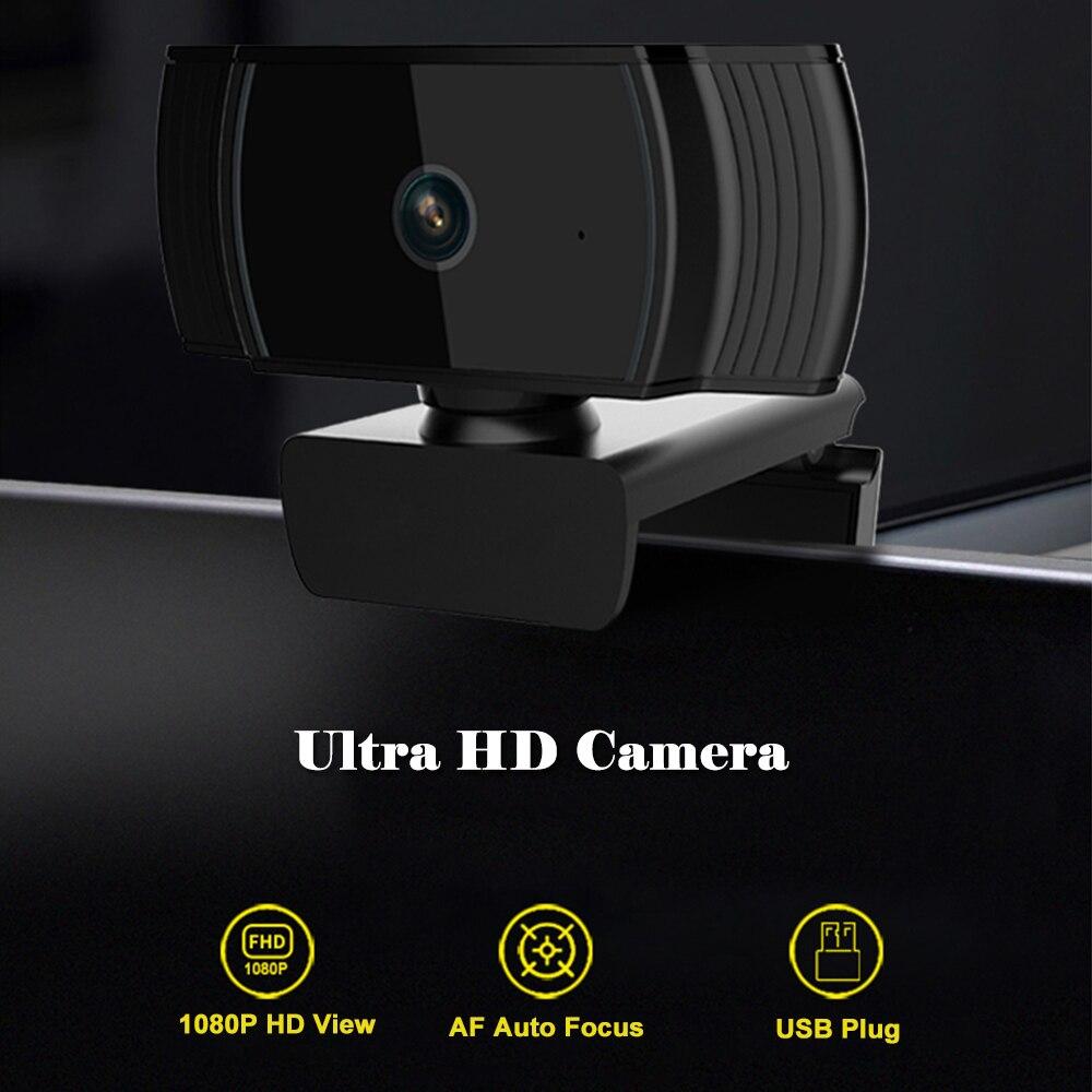 Hd 1080p Pro Webcam Autofocus Camera Full Hd Widescreen Video Chat