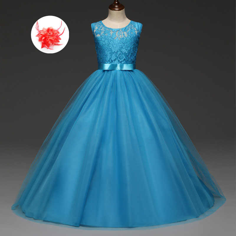 Girls Butterfly Party Dress Blue Yellow Green 4 5 6 7 8 Years