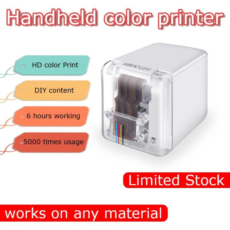 princube handheld inkjet mini portable printer WIFI USB for ios Android tattoo logo bar code DIY marker mobile color printer