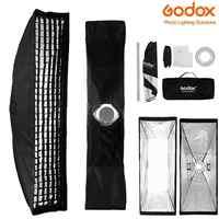 Godox 35,4 дюйма фотостудия стробоскоп вспышка софтбокс Bowens крепление Speedlight Speedlite софтбокс с отражателем с сумкой для переноски