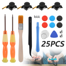 25 IN 1 3D Analog Joy con Joystick Replacement Gamepad Thumb Stick for Nintendo Switch NS Joystic JoyCon Repair Tool