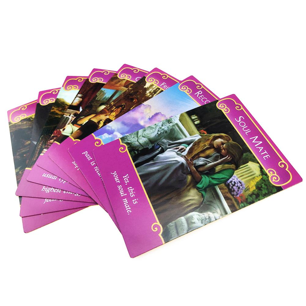 Romance Angels Oracle Tarot Cards English Read Fate Board Game Oracle Playing Card Deck Games For Party Personal Entertainmen