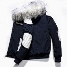 Winter Parka Men Windbreak Plus Size Thick Warm Windproof Fur Coats Male Military Hooded Hip Hop Jackets Men's Winter Jackets