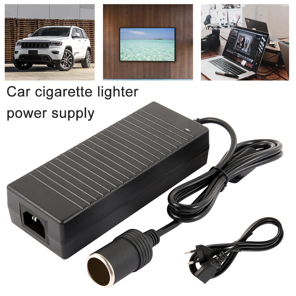 Image 1 - Car cigarette lighter AC adapter 110V 220V to 12V 5A 6A 8A 10A power adapter converter inverter DC T transformer lighter-in Cigarette Lighter from Automobiles & Motorcycles