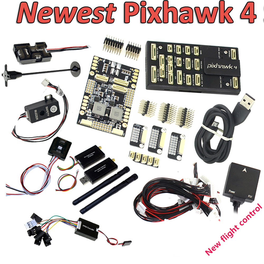 New Pixhawk PX4 PIX 2.4.8 Flight Controller NEO M8N GPS Radio 100mw 500mw Telemetry OSD 3DR 433Mhz 915Mhz for RC FPV Drone Frame-in Parts & Accessories from Toys & Hobbies