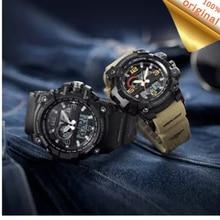 Youpin TwentySeventeen 디지털 시계 남자 듀얼 디스플레이 방수 달력 카운트 다운 전자 야외 스포츠 시계